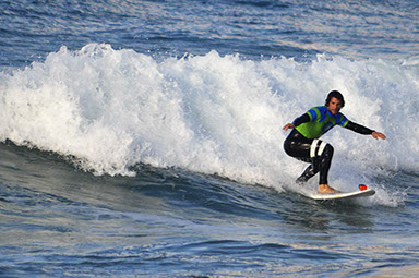 Improvent surf clinic