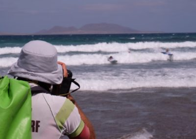 Foto surf in Famara